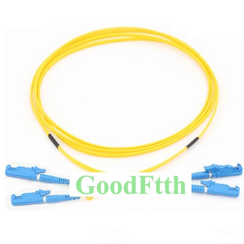 Fiber Patch Cord Jumper E2000/UPC E2000/UPC E2000 E2000 UPC SM Duplex GoodFtth 1 15m-in Fiber Optic Equipments from Cellphones & Telecommunications