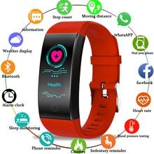 LIGE 2019 New Smart Bracelet Men And Women  Waterproof Sport Watch Fitnes Heart Rate Monitoring LED Digital Clock