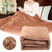 Electric Blanket Mat 220V Auto Electric Heated Blanket Mat Waterproof Heating Carpet 4 Gears timing Electric Mattress