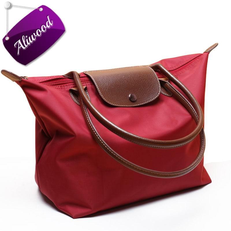 2017 Women Bag Long Handbags Vintage Waterproof Nylon Tote Bag Handle Ladies Sho