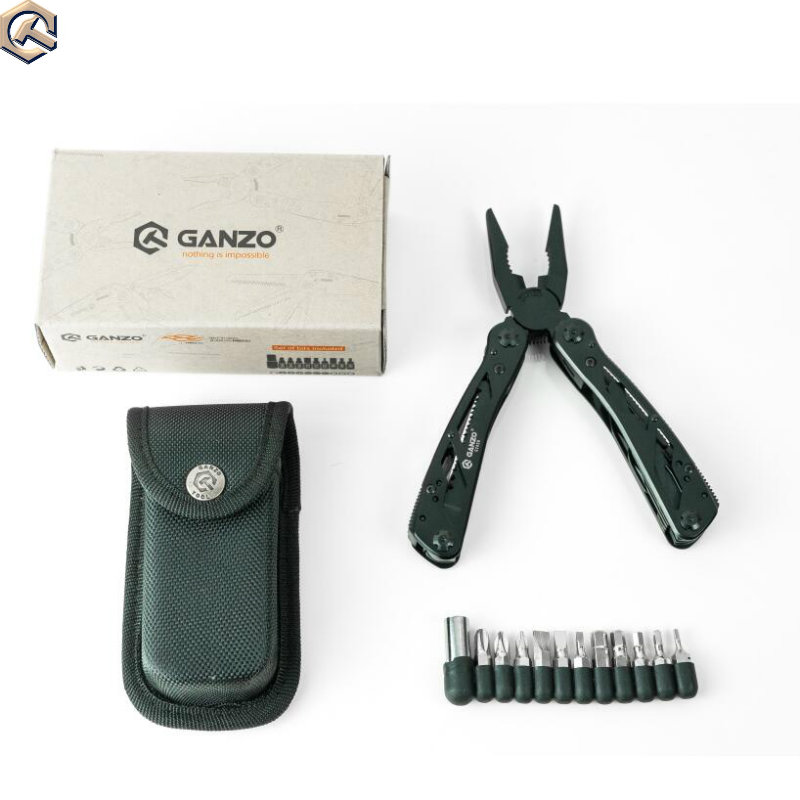 Ehrlichkeit 10 Teile/los Ganzo G202b Multi Zange Nadel-nase Zange Edc-tool Multifunktions Folding Zange Schraubendreher Bits Mini Schere Werkzeuge Handwerkzeuge