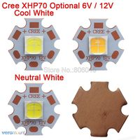 Cree XHP50 XHP70 6V Or 12V 6500K Cool White 5000K Neutral White 3000K Warm White High