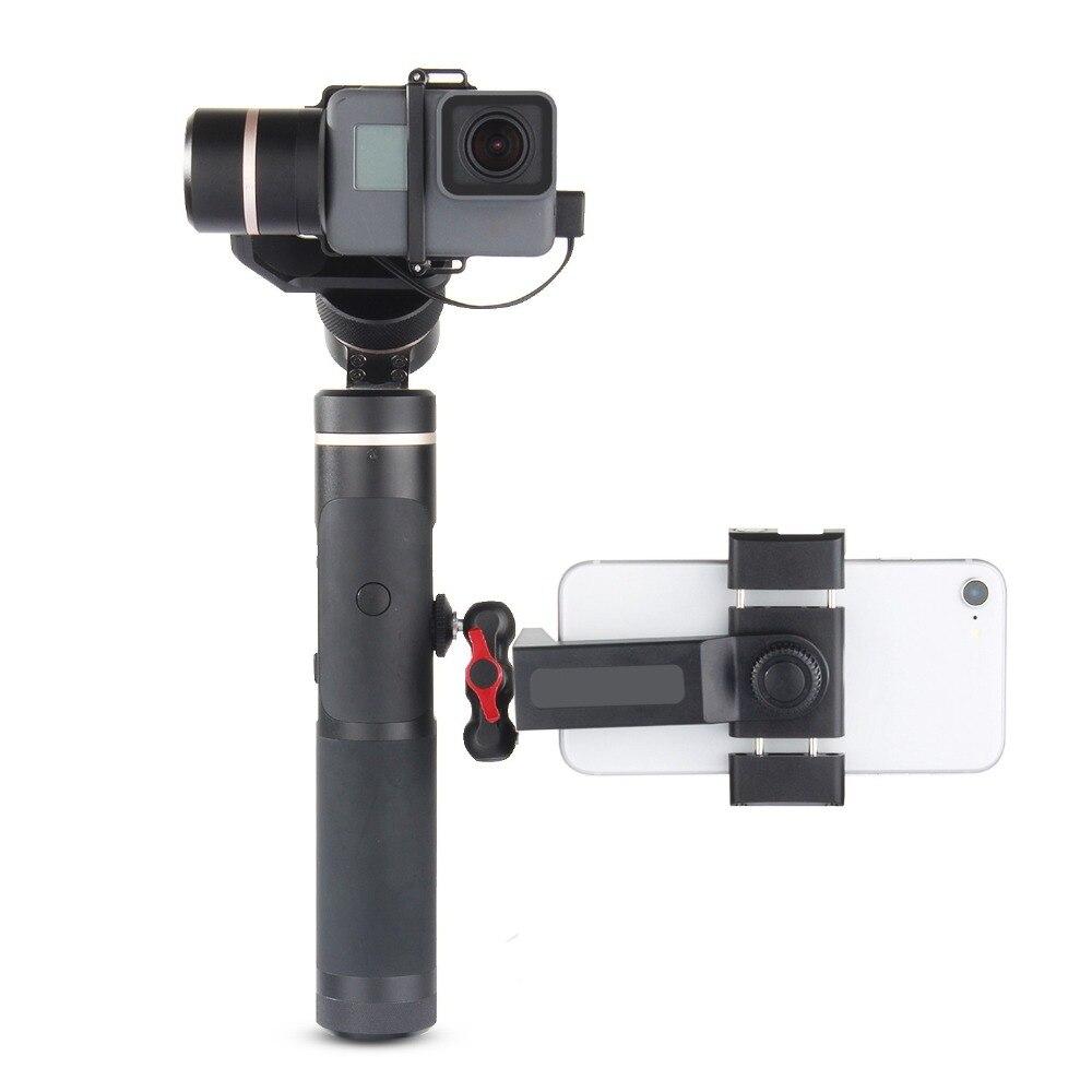 Feiyu G6 Plus 3-Axis Splash-Proof Gimbal Stabilizer for Gopro Hero 6/5/4 Action Camera/Mirrorless/Digital Cameras/Smartphones feiyu spg plus 360 degree handheld gimbal stabilizer bluetooth for gopro hero 5 4 3 xiaomi yi action camera and smartphones