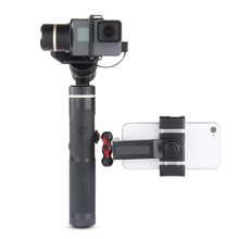 цена на Feiyu G6 Plus 3-Axis Splash-Proof Gimbal Stabilizer for Gopro Hero 6/5/4 Action Camera/Mirrorless/Digital Cameras/Smartphones