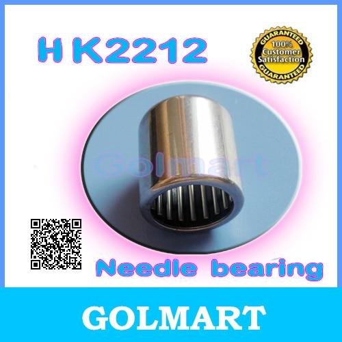12 PCS 22x28x12 mm 22mm x 28mm x 12mm HK2212 Needle Roller Bearing