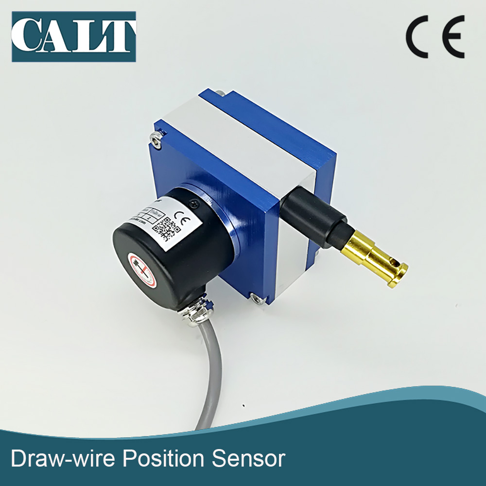 CWP-S1500mm displacement sensor potentiometer type position sensor draw wire rope linear transducers linear displacement sensor pulling wire encoder pulling rope encoder pulling rope sensor