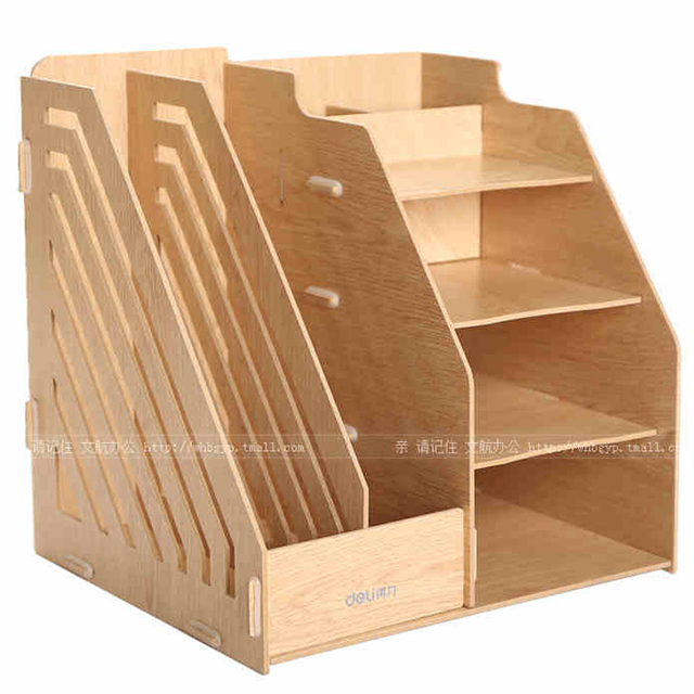 office file boxes. Creative File Box Three A4 Document Office File Seat Wooden Boxes  1pcs/box