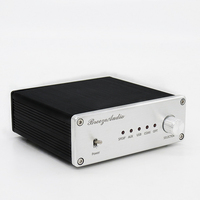 Breeze Audio Audio decoder AK4490 + AK4118 + XMOS USB DAC Decoder Support Coaxial / Optical / USB Input Matching amplifier Use