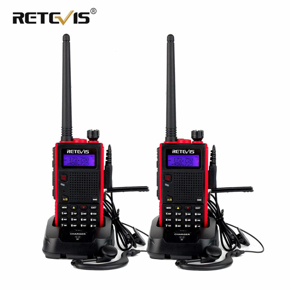Retevis RT5 128CH WalkieTalkie Dual Band 8W Scan VOX 1750Hz 2-Way Radios 2500MAh