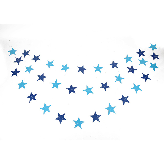 Star Shaped Paper Garland