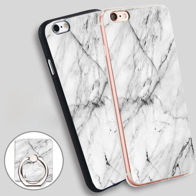 marble white jpg Soft TPU Silicone Phone Case Cover for iPhone 4 4S 5C 5 SE 5S 6 6S 7 Plus