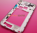 Original Housing Chassis frame/bezel case cover for note2 note 2 N7100 LCD/digitizer white/black+side buttons