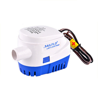 High Quality DC 12V 24V Bilge Pump 1100GPH Electric Eater Pump For Boats Accessories Marin Submersible