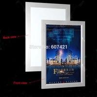 24 х 35.4 на одной стороне Открытый Всепогодный запираемый Led Меню лайтбокс, плакат Дисплей лайтбокс, со светодиодной подсветкой доска
