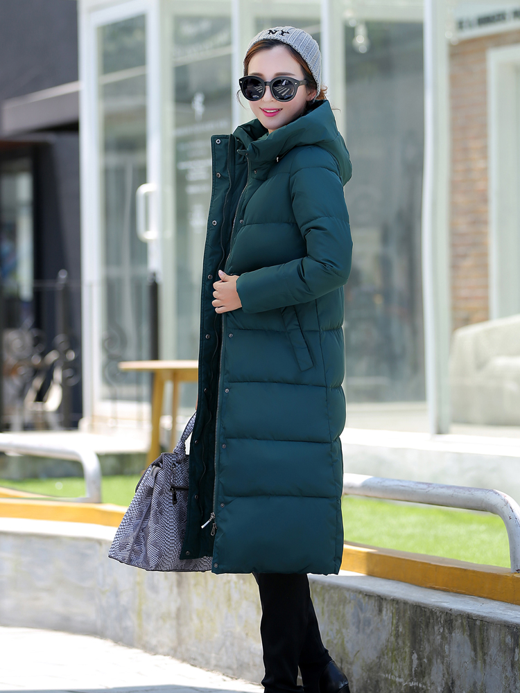 Новинка весна зима дизайн длинное пальто Женская хлопковая стеганая куртка размера плюс яркие цвета куртки и пальто зеленый черный красный