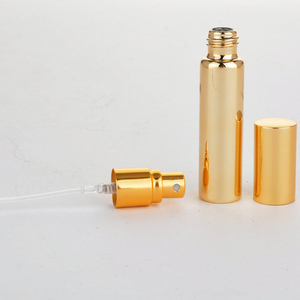 Image 3 - Wholesale 100 Pieces/Lot 10ML Portable UV  Glass Refillable Perfume Bottle With Aluminum Atomizer Empty Parfum Case For Traveler