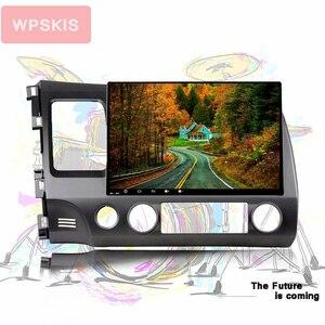For honda civic 2006-2011 car gps navigation tape recorder Headunit music video audio av multimedia system octa core android10.0