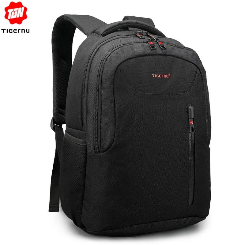 Tigernu Brand Men's 15.6inch Laptop Backpack Women Male Mochila Anti-theft Backpack School Bags For Teenagers Bookbag