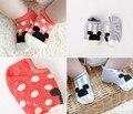 2016 Moda de Nueva Lindo Mickey Niños Calcetines Jacquard Calcetines de Los Niños para Niños y Niñas