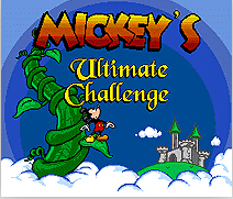 Mickey's Ultimate Challenge 16 bit MD Game Card For 16 bit Sega MegaDrive Genesis game console