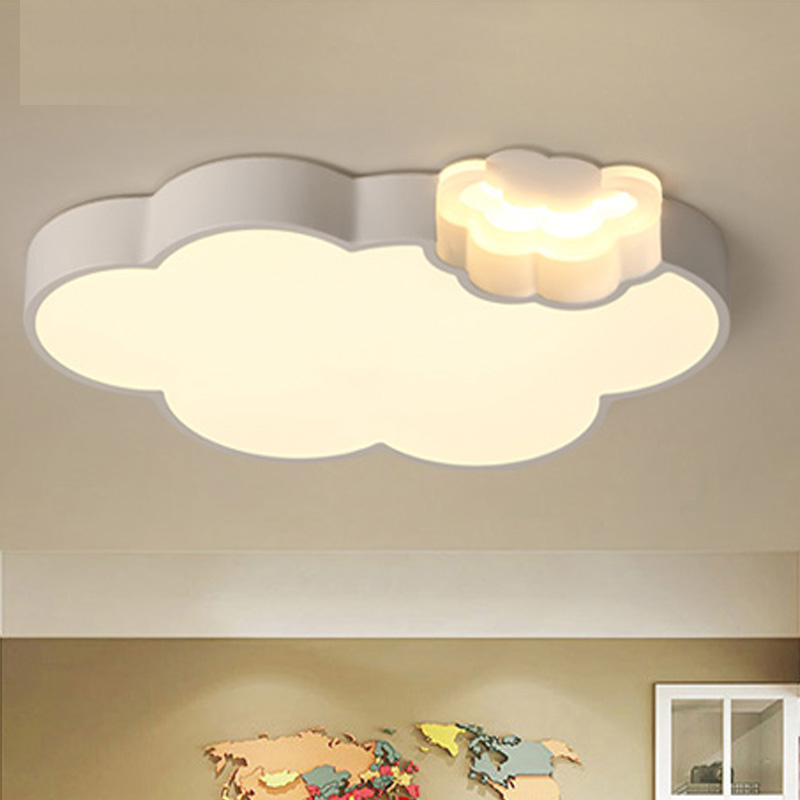 Ceiling Lights for baby room boys and girls children lighting bedroom decor lustre de plafond moderne Ceiling lamp for children noosion modern led ceiling lamp for bedroom room black and white color with crystal plafon techo iluminacion lustre de plafond