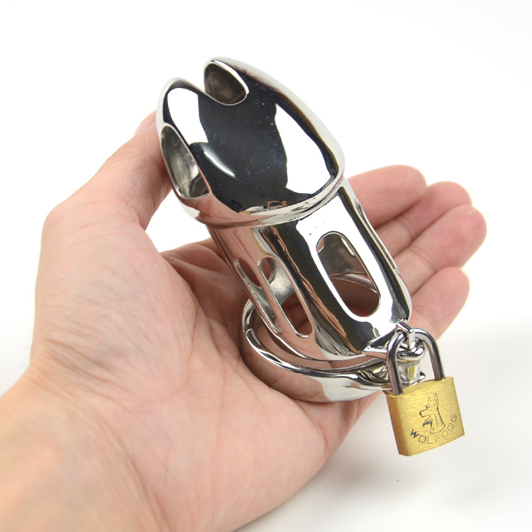 SODANDY Male Chastity Spikes Penis Ring Stainless Steel Cock Cage Bondage Gear Strap On Cock Lock Chastity Device Sex Products