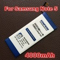 4000mAh EB-BN920ABE For Samsung GALAXY Note 5 battery N9200 N920t Project Noble EB-BN920ABE note5 Bateria Free Shipping