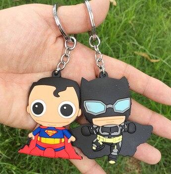 Брелок Бэтмен и Супермен ПВХ
