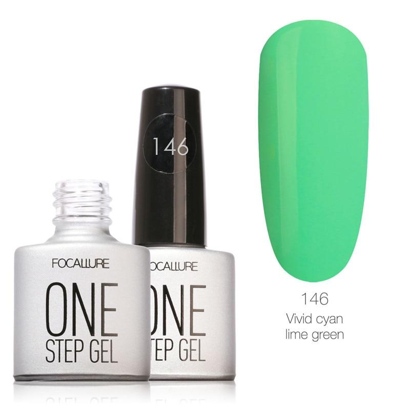 9 piezas FOCALLURE un paso Gel de uñas polaco arte diseño 3 en 1 Gel ...