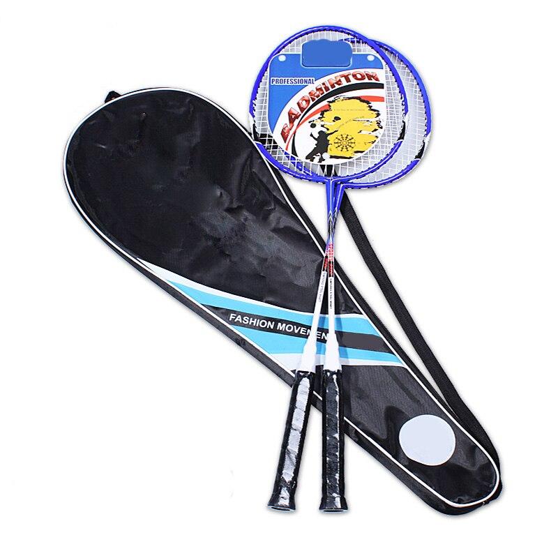 Kyncilor Badminton Racket High Quality Down Ferroalloy Rod Fashion Student Training Racket