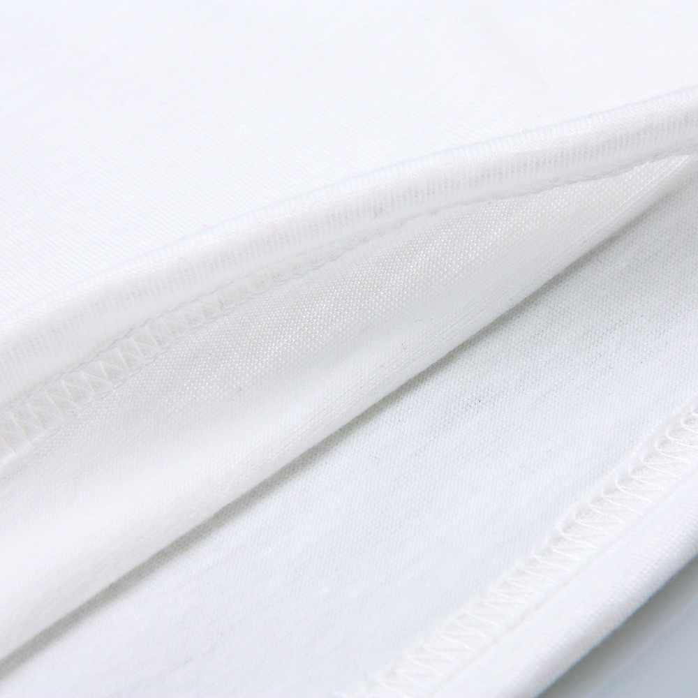 Mùa hè 2019 mắt lông mi thiết kế lỏng màu trắng tối giản ngắn tay T-Shirt top cá tính T-Shirt