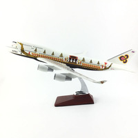 FREE SHIPPING Boeing 747 THAI APEC LIVERY(CANOE) 47CM 1:150 METAL ALLOY MODEL PLANE AIRCRAFT MODEL TOY AIRPLANE BIRTHDAY GIFT