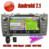Wanusual 2G 16GB Quad Core Android 7 1 Car DVD Player For Toyota Camry 2007 2008