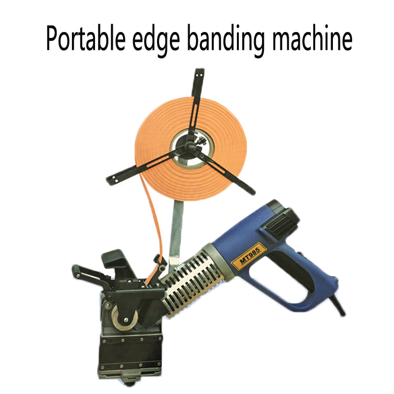 MT985 Woodworking portable curve straight 2000W Manual edge banding machine Small home improvement decoration tool 220V-230VMT985 Woodworking portable curve straight 2000W Manual edge banding machine Small home improvement decoration tool 220V-230V