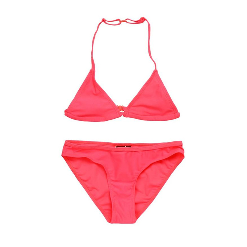 wholesale drop shipping Children Baby Girl Solid Swimwear Swimsuit Bathing Clothes Fashion S3JUN7
