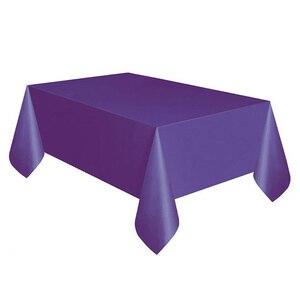 Image 4 - מוצק צבע 137x274 cm מפות חד פעמי אנטי שמן שולחן בד שולחן דקור לחתונה יום הולדת חדשה שנה מסיבת חג המולד