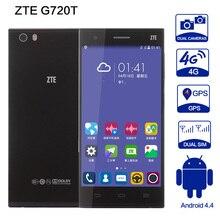 D'origine zte g720t Mobile Téléphone snapdragon 615 Ocat Noyau CPU Smartphone 2 GB 16 GB 13MP WCDMA GPS FDD-LTE 5.0 1920*1080 Pixel