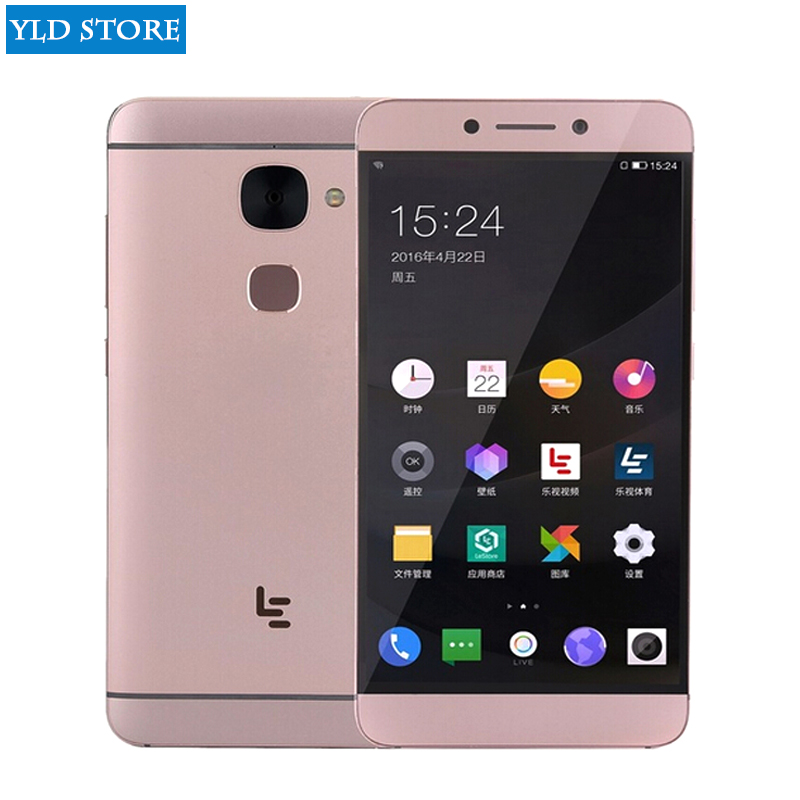 Original Letv Le 2X620 4G LTE handy Android 6.0 Deca Core 2,3 GHz 5,5 ''16MP Kamera fingerprint telefon