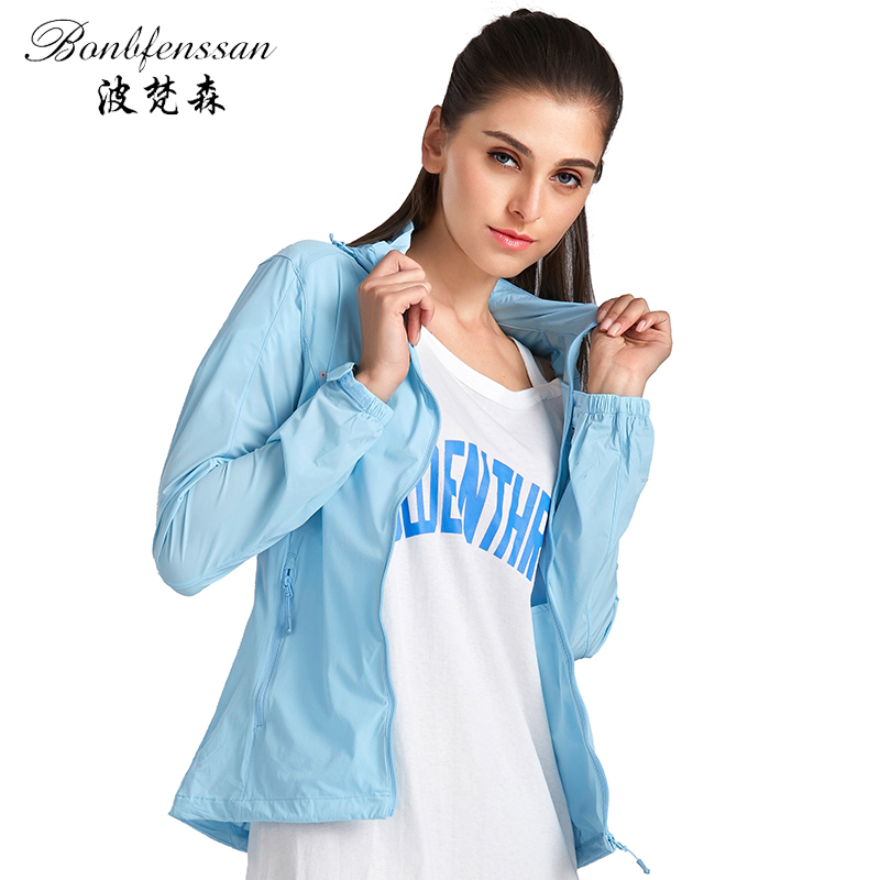 High Quality women Quick-drying Sun Protection Clothing UV Protection Waterproof Breathable Outdoor Camping Hiking Jacket 6721B