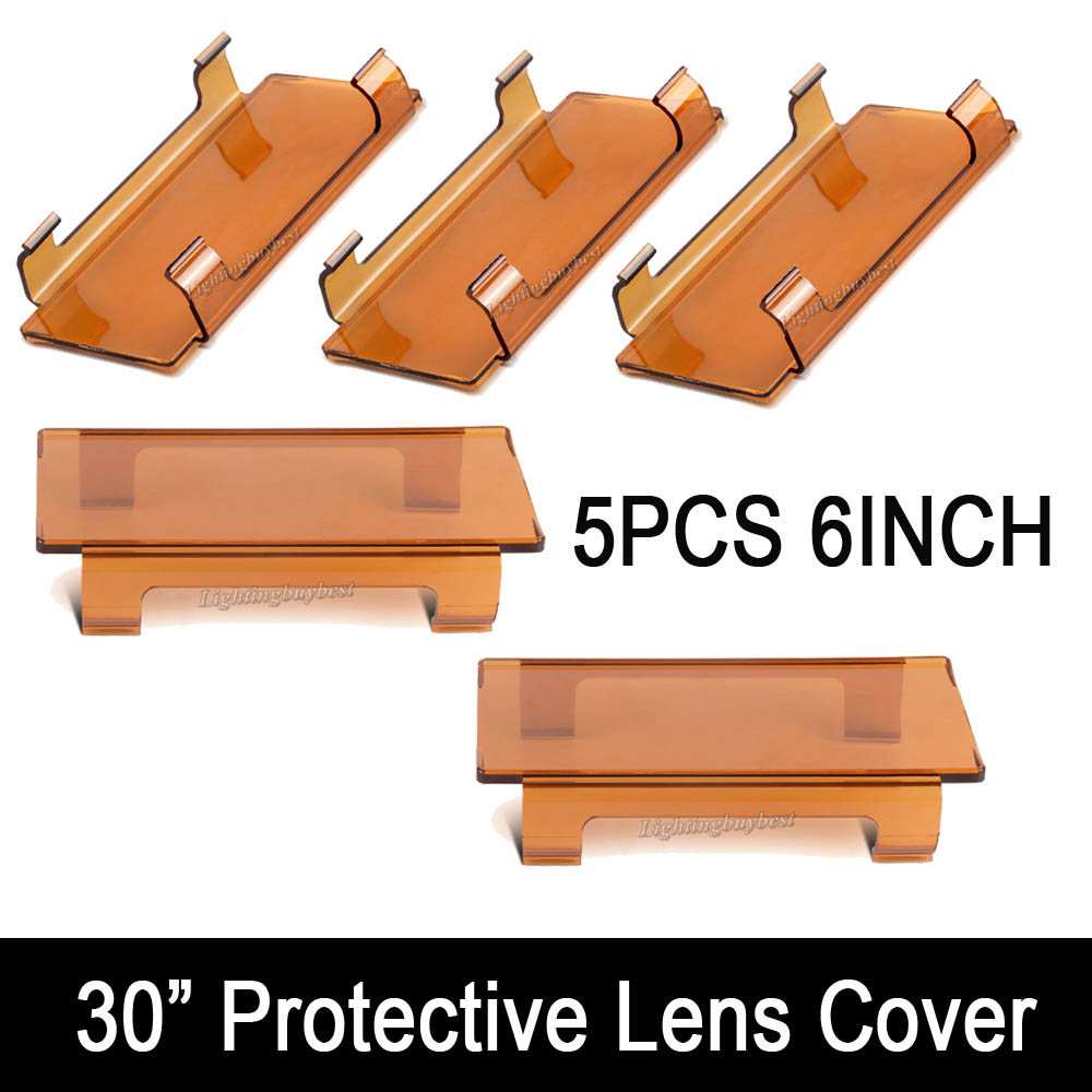 30 inch Snap On Dust Proof Protective Lens Covers Shell 5pcs 6inch Yellow Amber Red Green Black Clear FOR LED Work light Bar 5pcs lot high quality 2 pin snap in on off position snap boat button switch 12v 110v 250v t1405 p0 5