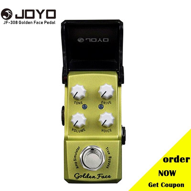 joyo jf 308 golden face amp simulator mini electric guitar effect pedal with knob guard true. Black Bedroom Furniture Sets. Home Design Ideas