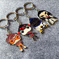 4pcs/1set Over game of watch Metal alloy phone chain doll no repeat 6cm Over the watch online game action figure toy for player