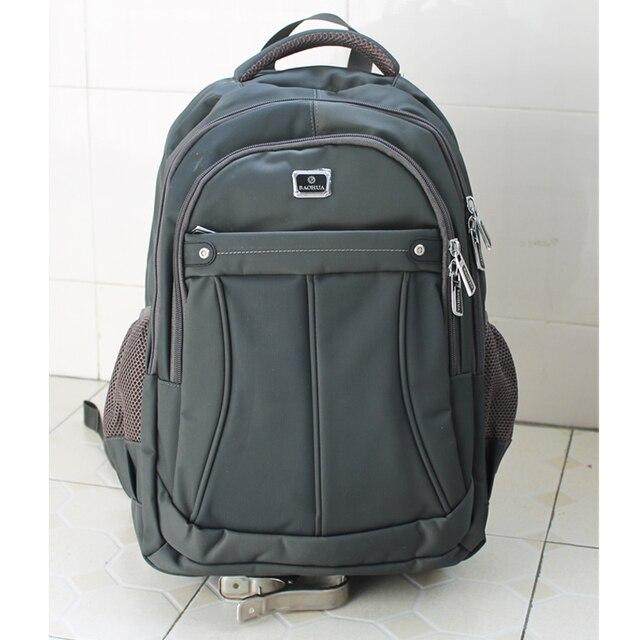 2014 hombres de ordenador portátil mochila comercial escuela los estudiantes de secundaria bolso de viaje ocasional