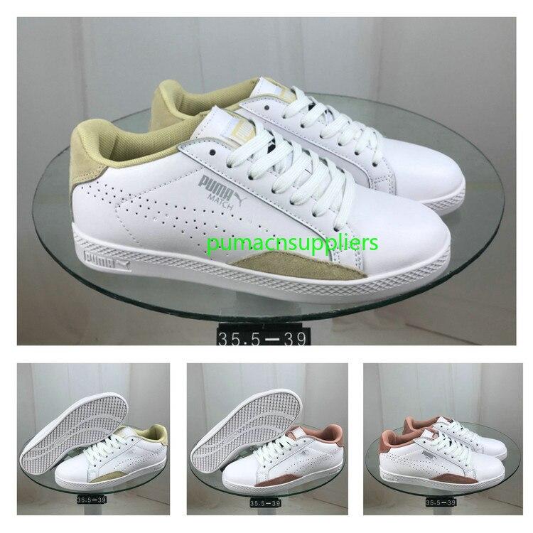 25a1f82e18c5 New Arrival Puma x Careaux Basket Puma white rose women s shoes Classic Puma  shoes Badminton Shoes