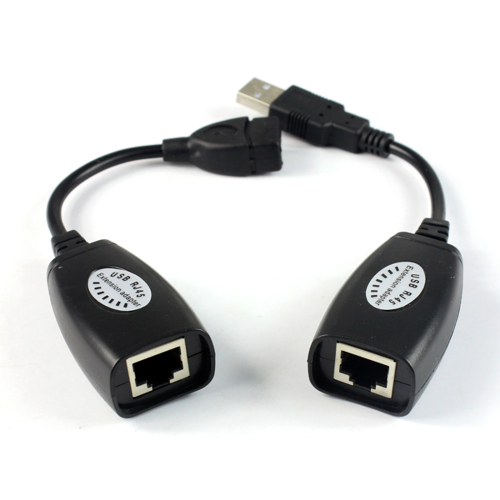 F02684 USB extender ,extend USB 50M,single LAN cable USB Cat5 RJ45 Lan Ethernet Extender Repeater Extension