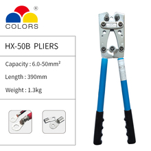Crimping pliers HX-50B Manual crimping for 6-50mm2 1-10AWG cable
