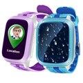 Ds18 smart watch, niños, niños del bebé wifi gps localizador del perseguidor sos Tarjeta de la Ayuda SIM de llamadas SMS Niños Smartwatch PK Q50 Q60 Q90 Q100