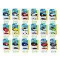 16 Unids 1: 64 Hot Wheels Diecast Metal de Coches de Modelos de La Rápida Y furioso de Bolsillo Regalos de Juguetes de Coches Coche Deportivo Caja de Regalos Para Los Niños recoger