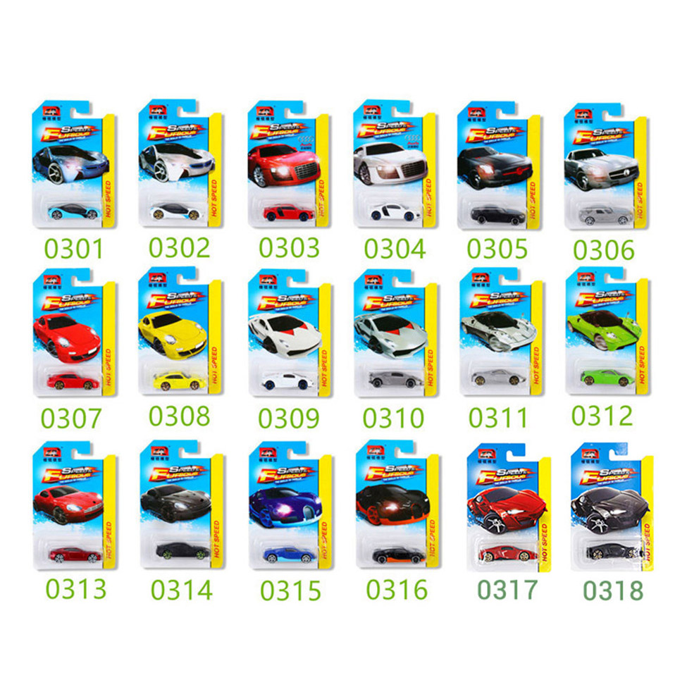 16Pcs 1 64 Hot Wheels Diecast Metal Car Models The Fast And Furious Pocket Cars Toys