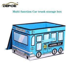 Image 1 - Новый автомобильный органайзер ящик для хранения багажник автокресло сумка для хранения Коробка для автомобиля Короб